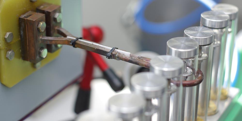 Induktives Löten unter Schutzgas